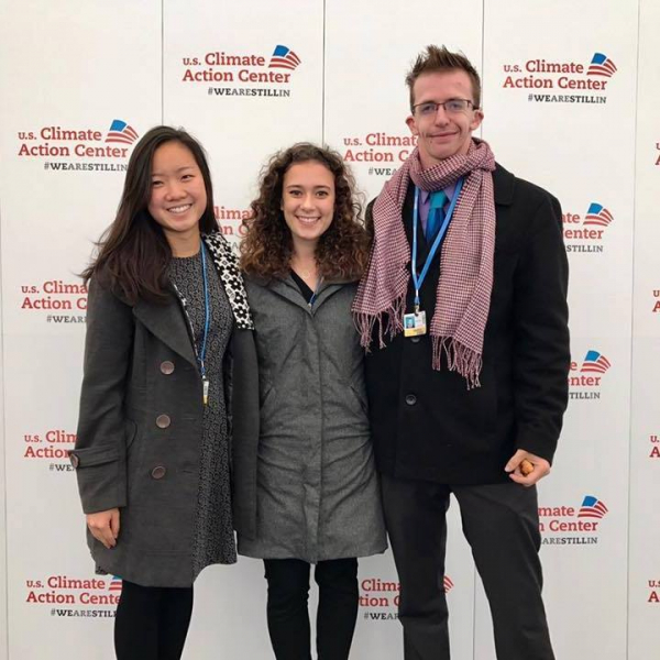 Students participate in U.N. global climate summit