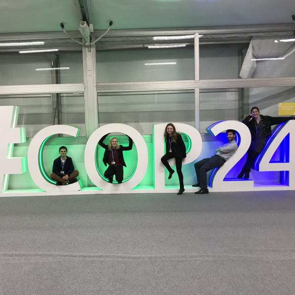 COP 24 students